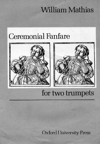 9780193577572: Ceremonial fanfare: For two trumpets