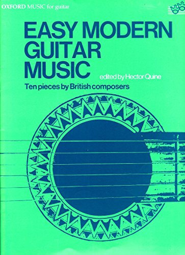 Easy modern guitar music: Ten pieces by