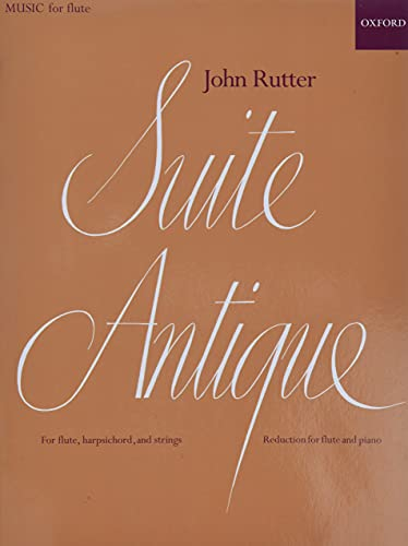 9780193586918: Suite Antique: Reduction for flute and piano