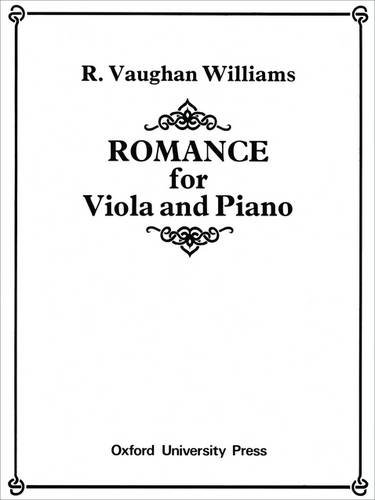 9780193592711: Romance for viola and piano