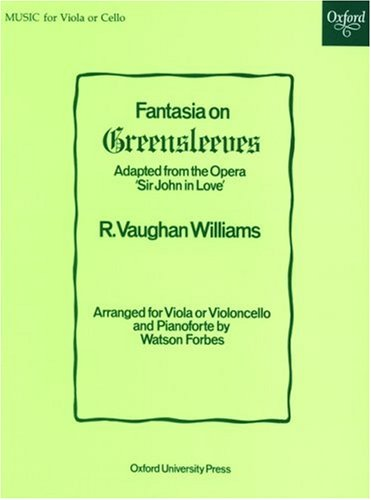 9780193593015: Fantasia on Greensleeves: Viola or cello solo and piano