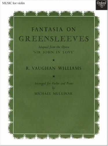 9780193593077: Fantasia on Greensleeves: Violin solo and piano