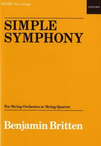9780193619319: Simple Symphony: Study score