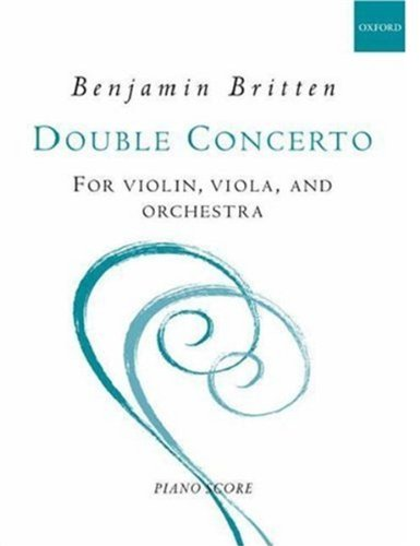 9780193622524: Double concerto for violin and viola: Piano reduction