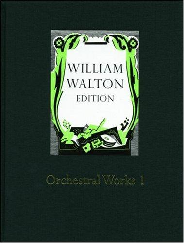 Orchestral Works 1: William Walton (composer),