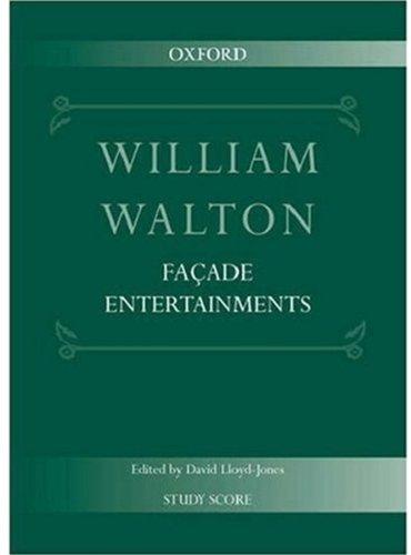 9780193683266: Façade Entertainments: Study score