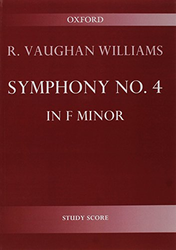 9780193694101: Symphony No. 4: Study score