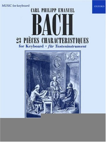 23 Pieces Characteristiques: Bach, Carl Philipp