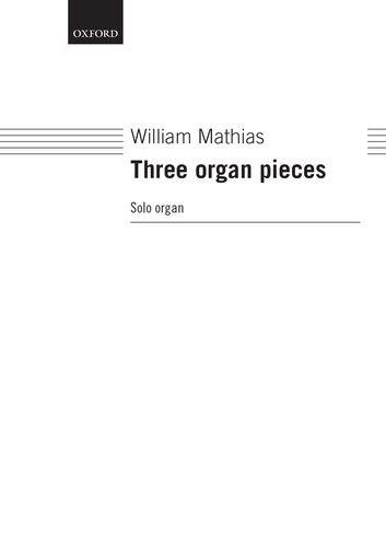 9780193755598: Three organ pieces