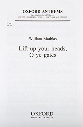 9780193804364: Lift up your heads, O ye gates: Vocal score