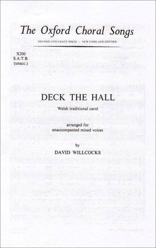 9780193804449: Deck the hall: Vocal score