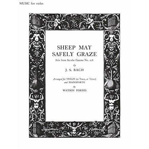 9780193850309: Sheep May Safely Graze: Strings and piano