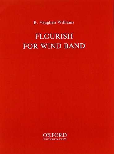 Flourish: Windband score and parts: Ralph Vaughan Williams