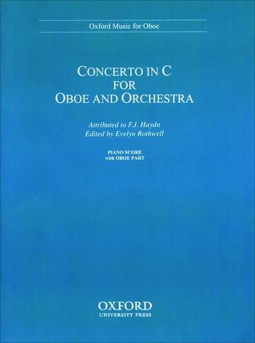 Concerto in C for oboe and orchestra: Reduction for oboe and piano