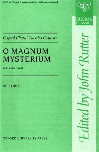 9780193851757: O magnum mysterium: Vocal score (Oxford Choral Classics Octavos)