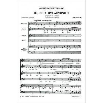 Magnificat and Nunc dimittis: Vocal score: Willan, Healey (Composer)