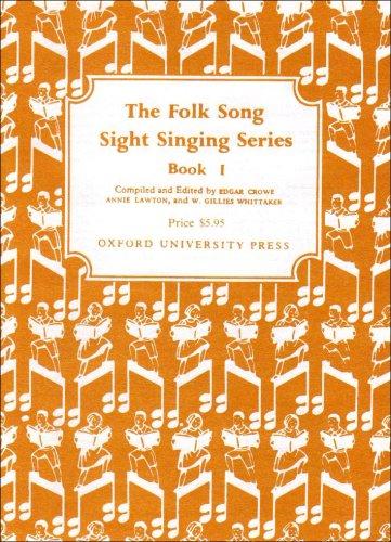 9780193853218: Folk Song Sight Singing Book 1 (Bk. 1)