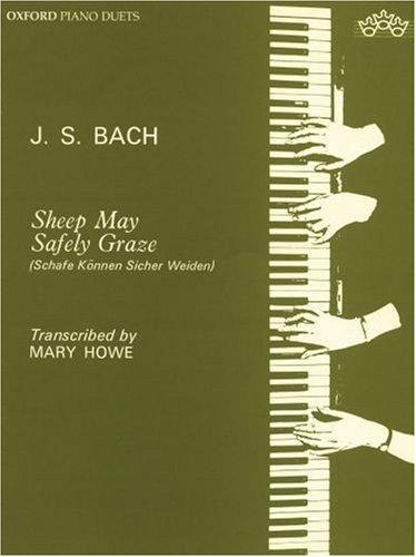 9780193853546: Sheep May Safely Graze: Sheep may safely graze: Piano Duet