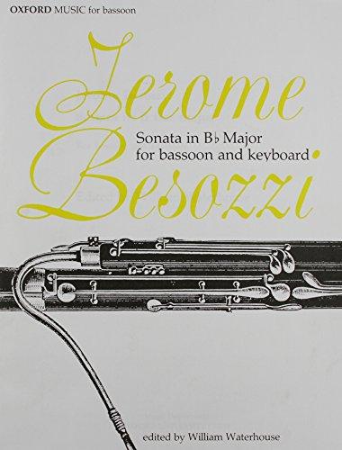 9780193855564: Sonata in B Flat Major for Bassoon and Keyboard