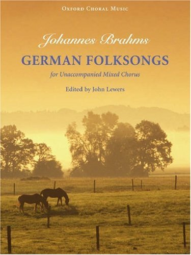 9780193856608: German Folksongs: Vocal score