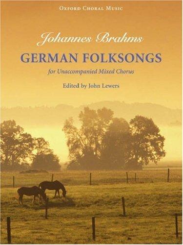 9780193856608: German Folksongs