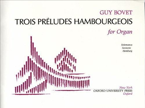 9780193857926: Trois Preludes Hambourgeois