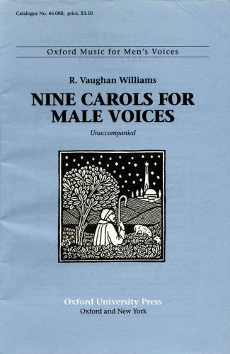 9780193859401: Nine Carols for male voices