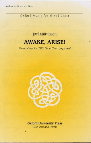 9780193859791: Awake, arise!: Vocal score