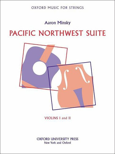 9780193861084: Pacific Northwest Suite: Violins I and II