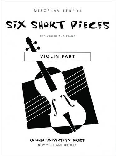 9780193861138: Six short pieces