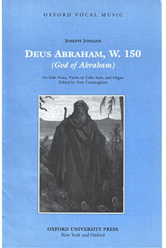 9780193861480: Deus Abraham