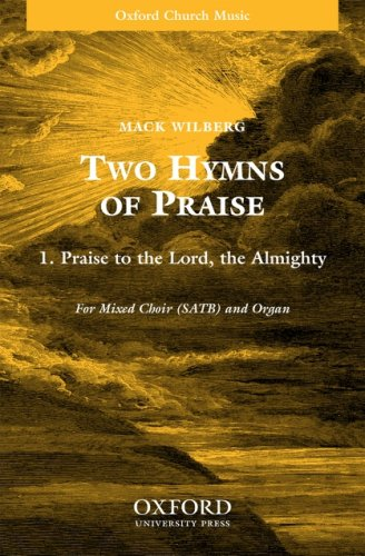 9780193862487: Praise to the Lord, the Almighty: SATB version