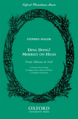 9780193863217: Ding dong! merrily on high: SSA vocal score