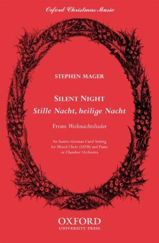 9780193863224: Silent night (Stille Nacht, heilige Nacht): SATB vocal score