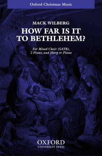 9780193864252: How far is it to Bethlehem?: Vocal score