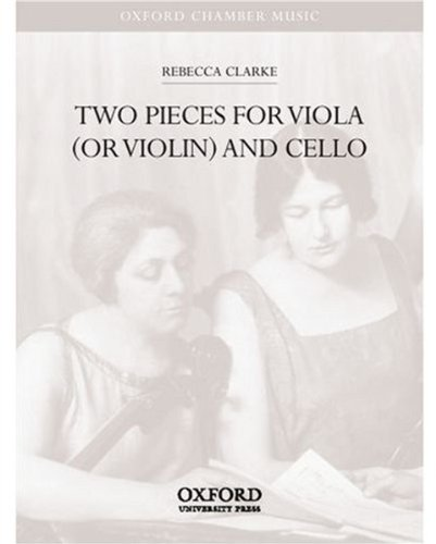 9780193864771: Two Pieces for viola (or violin) and cello