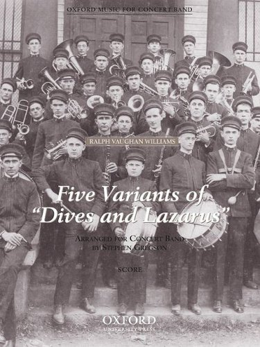 9780193865297: Five Variants on 'Dives and Lazarus': Concert band score
