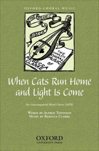 9780193866690: When cats run home and light is come: Vocal score