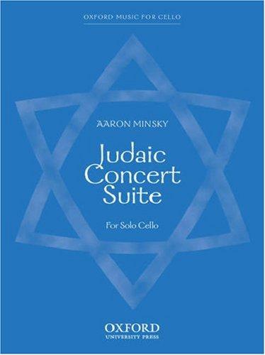 9780193866751: Minsky: Judaic Concert Suite (Cello Solo) ARCHIVE copy