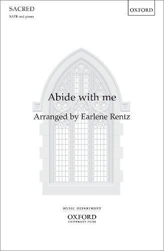 9780193867079: Abide with me: Vocal score