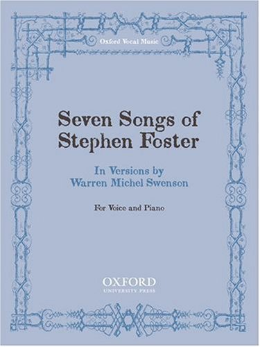 9780193867178: Seven songs of Steven Foster