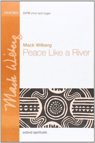 9780193868144: Peace like a river: Vocal score