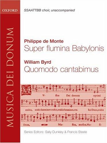 9780193868175: Super Flumina Babylonis and Quomodo Cantabimus: Vocal score (Musica dei Donum)