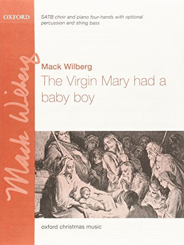 9780193869295: The Virgin Mary had a baby boy: Vocal score
