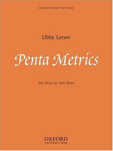 9780193869318: Penta Metrics: Five pieces for solo piano