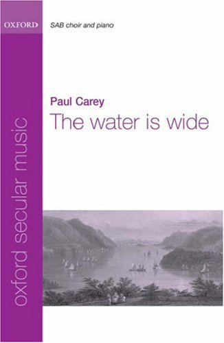 9780193869523: The water is wide: Vocal score