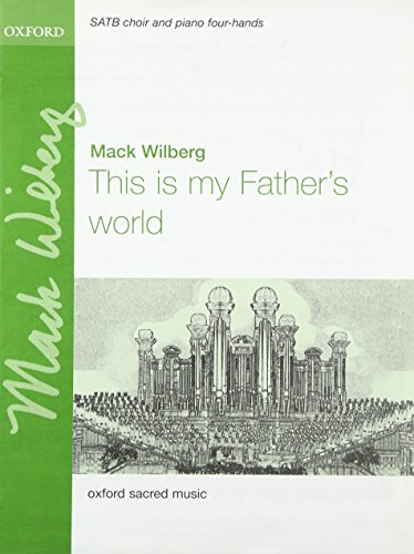 9780193869882: This is my Father's world: Vocal score
