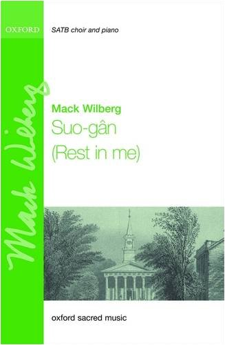 9780193869899: Suo-gan: (Rest in me) Vocal score (Oxford Sacred Music)