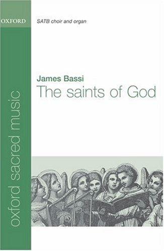 9780193869974: The Saints of God: Vocal score