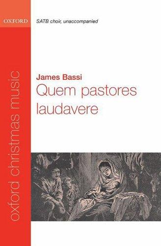 9780193870512: Quem pastores laudavere: Vocal score: SATB and Opt. Organ